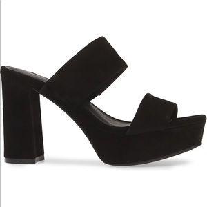 Black block heel 🖤